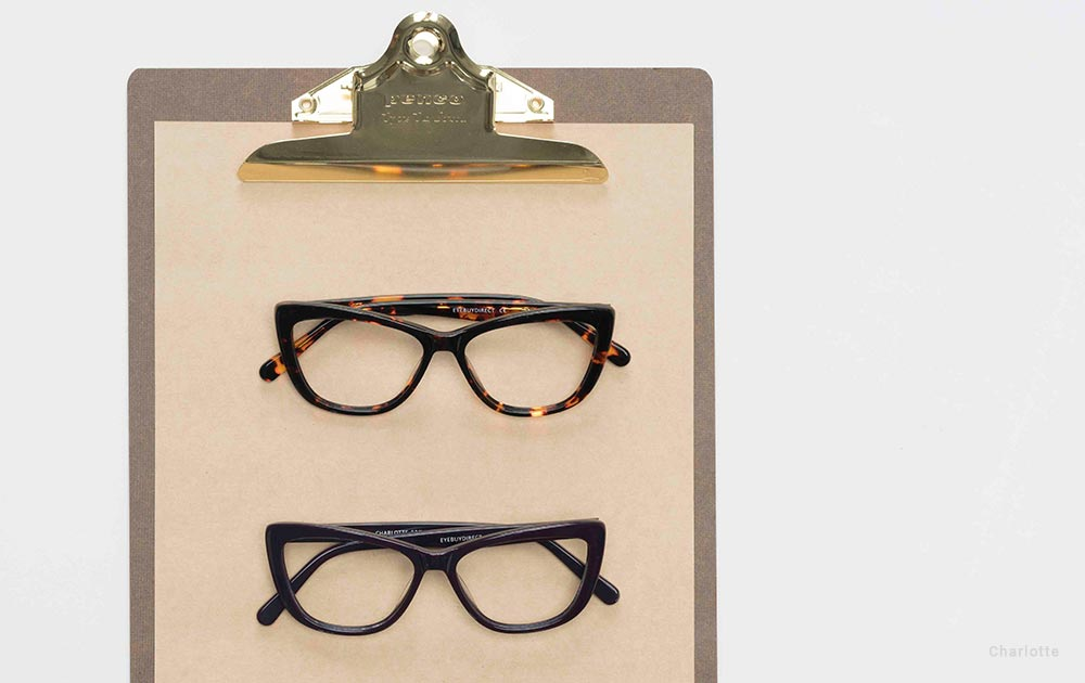 which face shapes suit cat eye glasses