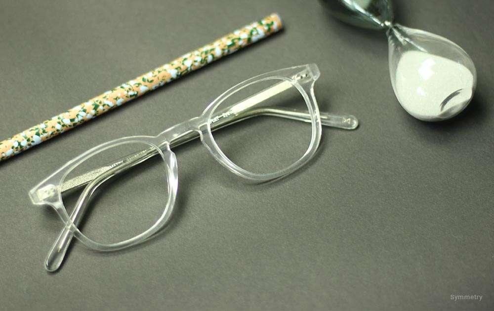 narrow frame sunglasses and eyeglasses