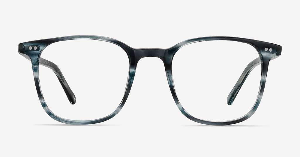 Blue Glasses Frames for the Bold
