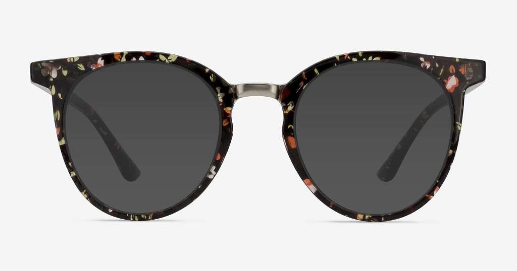 Floral Sunglasses: Summertime Flower Power