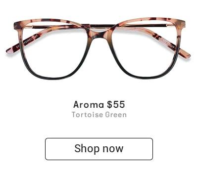 Large square tortoiseshell eyeglass frames