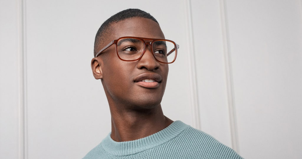 Glasses for People With Bigger Noses