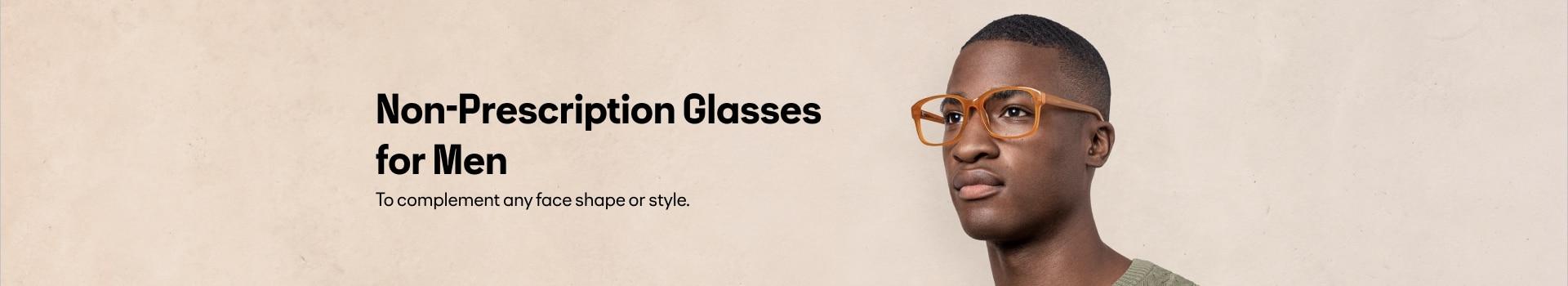 Non-Prescription Glasses for Men