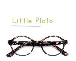 Floral Little Plato -  Colorful Plastic Eyeglasses