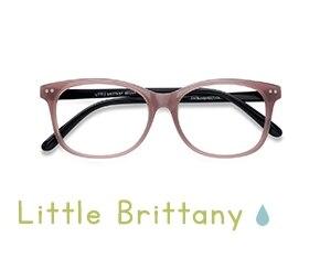 Pink Black Little Brittany -  Vintage Plastic Eyeglasses