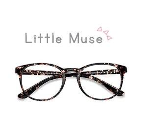Floral Little Muse -  Colorful Plastic Eyeglasses