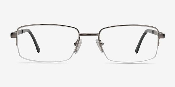 Axis Gunmetal Metal Eyeglass Frames