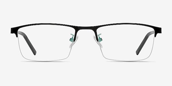 Algorithm Noir Métal Montures de lunettes de vue