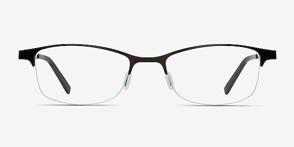 Pearl Noir Métal Montures de lunettes de vue