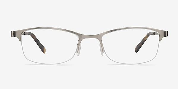 Pearl Silver Metal Eyeglass Frames