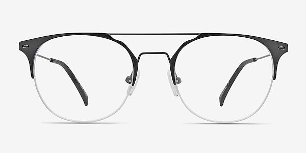 Ascent Black Metal Eyeglass Frames
