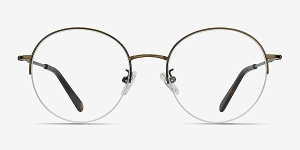 Albee Bronze Metal Eyeglass Frames
