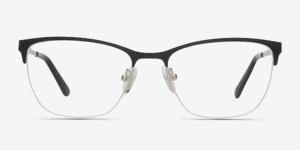 Lille Noir Métal Montures de lunettes de vue