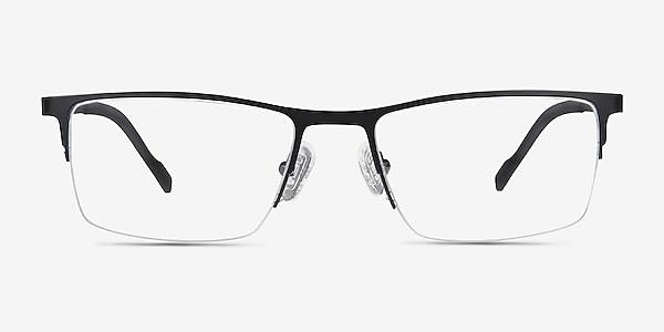 Variable Black Metal Eyeglass Frames