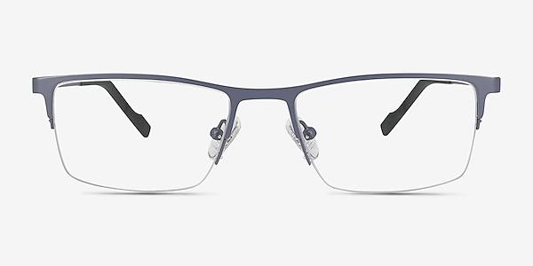 Variable Gray Metal Eyeglass Frames