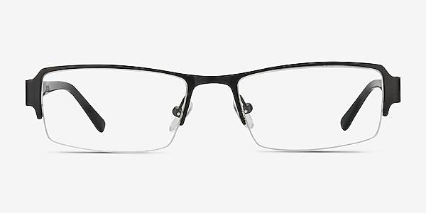 Vela Black Metal Eyeglass Frames