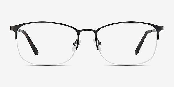 Paradox Black Metal Eyeglass Frames