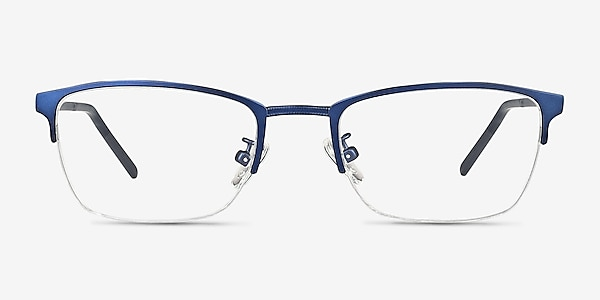 Argil Matte Navy Métal Montures de lunettes de vue