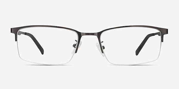 Bezel Dark Charcoal Métal Montures de lunettes de vue