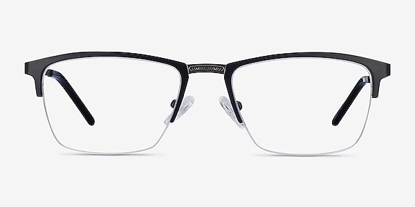 Osmosis Black Metal Eyeglass Frames
