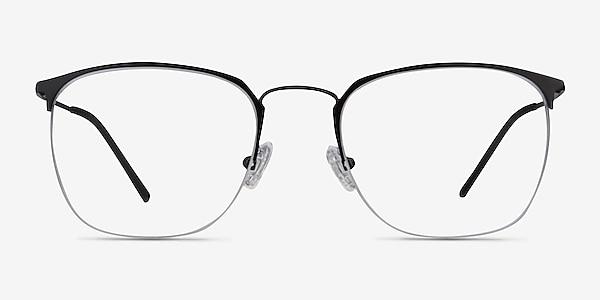 Urban Black Metal Eyeglass Frames