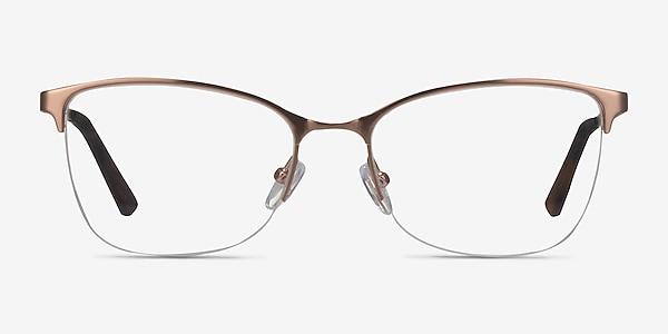 Kira Rose Gold Metal Eyeglass Frames