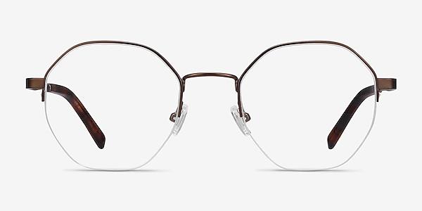 Cowen Bronze Metal Eyeglass Frames