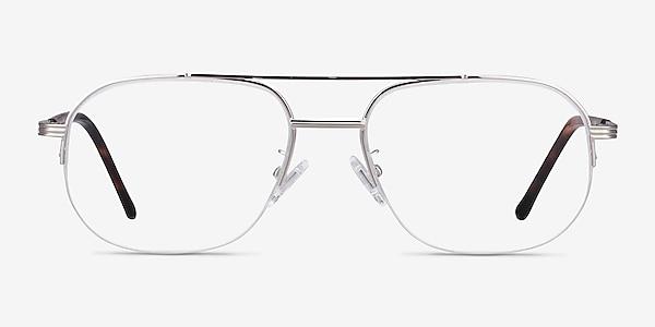 Carlson Silver Acetate-metal Eyeglass Frames