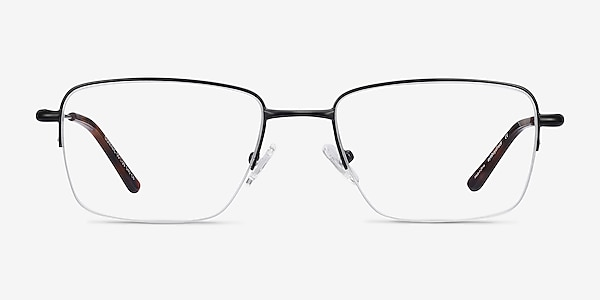 Dominic Black Metal Eyeglass Frames