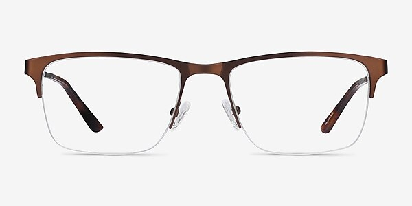 Jasper Coffee Metal Eyeglass Frames