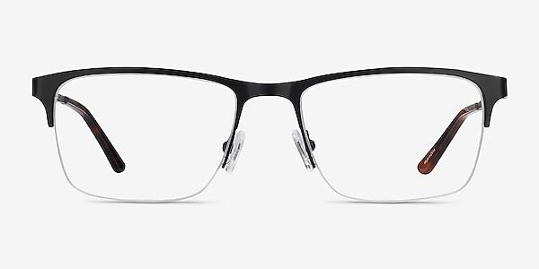 Jasper Noir Métal Montures de lunettes de vue
