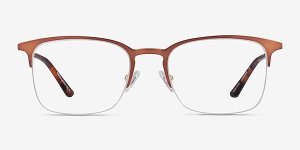 Owen Coffee Metal Eyeglass Frames
