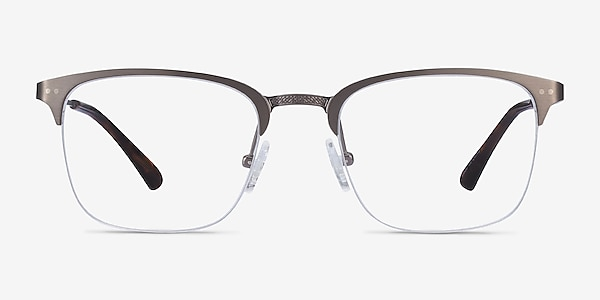 Quinton Gunmetal Metal Eyeglass Frames
