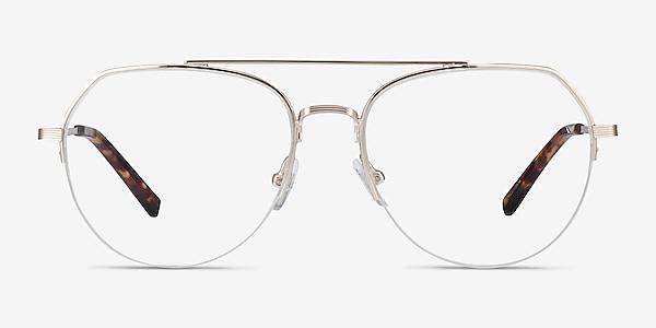 Breathe Gold Metal Eyeglass Frames