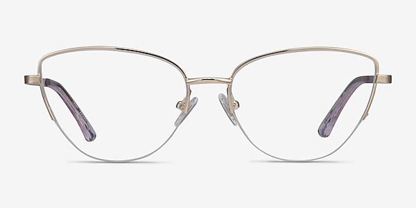Star Doré Métal Montures de lunettes de vue