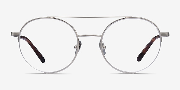 Miller Silver Metal Eyeglass Frames