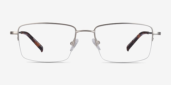 Process Silver Metal Eyeglass Frames
