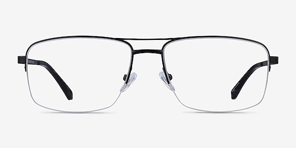 Yorkville Black Metal Eyeglass Frames