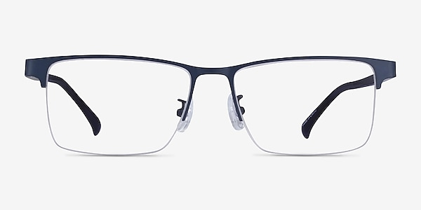 Childeric Navy Metal Eyeglass Frames