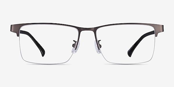 Childeric Gunmetal Metal Eyeglass Frames