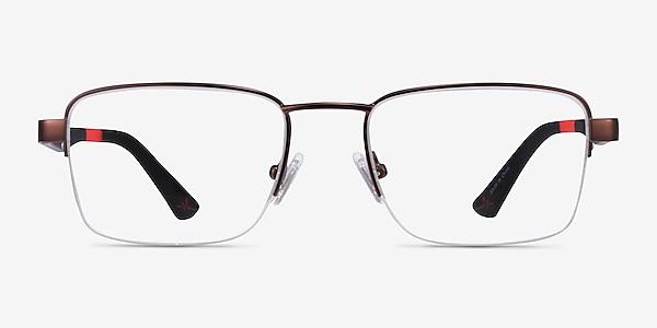Primus Bronze Metal Eyeglass Frames