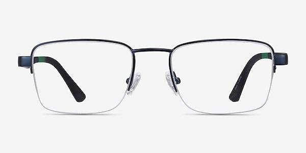 Primus Navy Metal Eyeglass Frames