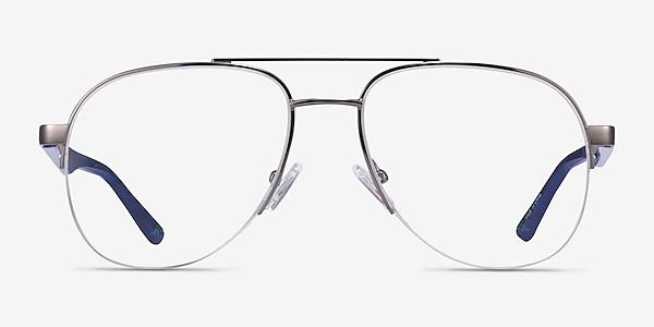 Hydroflux Gunmetal Métal Montures de lunettes de vue