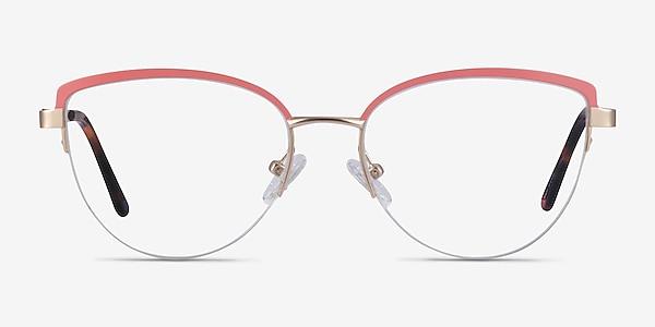 Anacostia Pink Gold Metal Eyeglass Frames