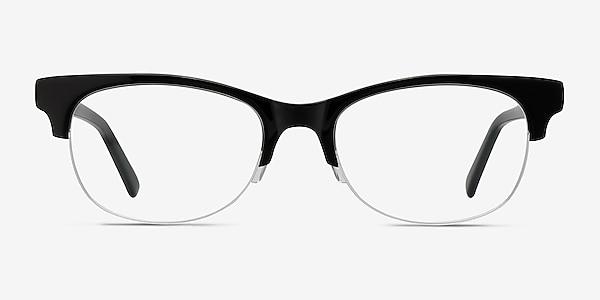 Luna Black Acetate Eyeglass Frames