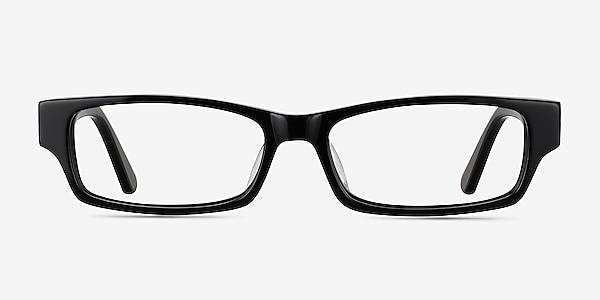 Dieppe Black Acetate Eyeglass Frames