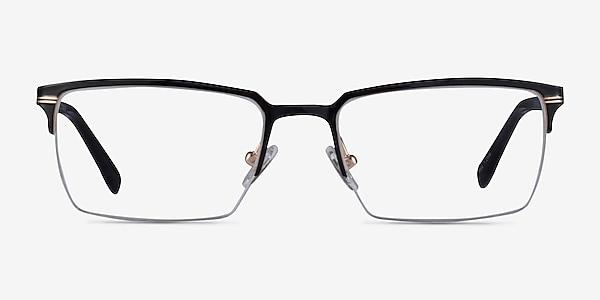 Sycamore Black Gold Titane Montures de lunettes de vue
