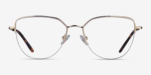 Camilla Gold Titanium Eyeglass Frames