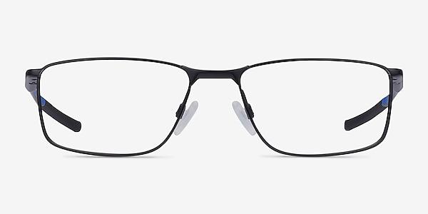 Oakley Socket 5.0 Satin Black & Blue Metal Eyeglass Frames