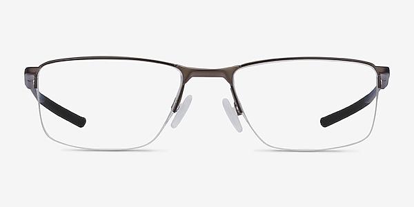 Oakley Socket 5.5 Satin Pewter Metal Eyeglass Frames
